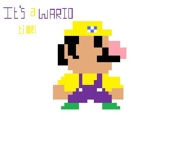 Pixel Wario