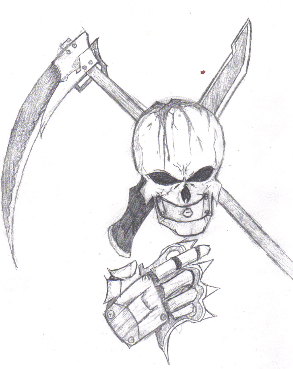 The Weapon Skull!