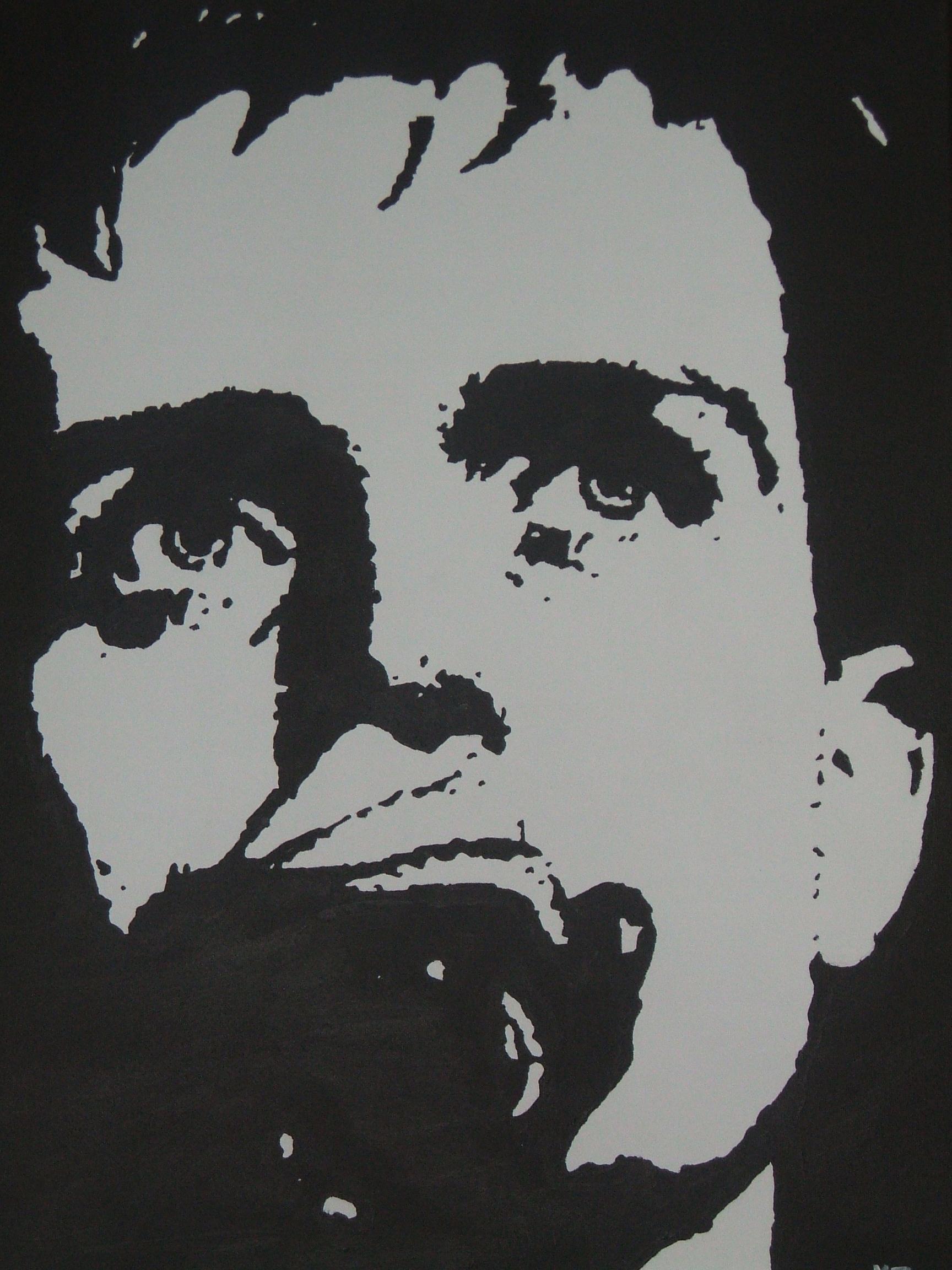 Ian Curtis (JD) Painting