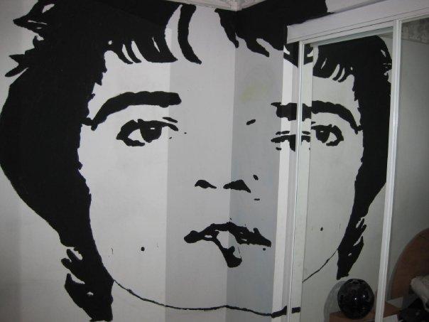 Pete Doherty Mural