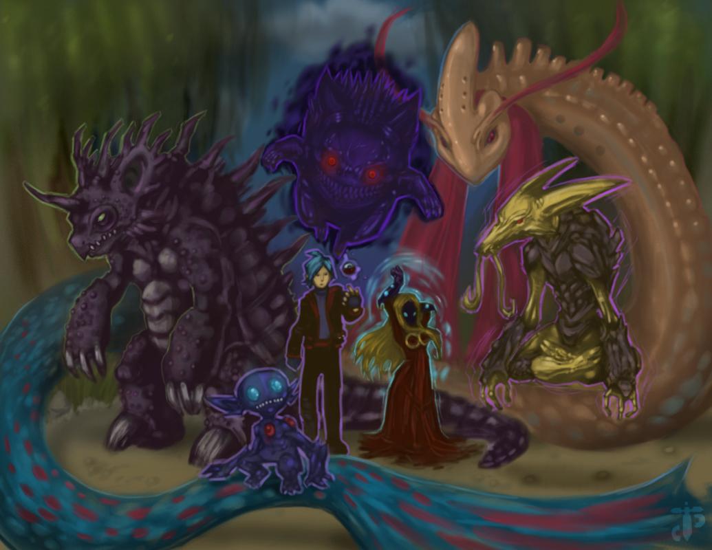 Vor's Pokemon team!