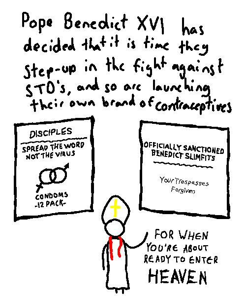 Pope Brand Contraceptives