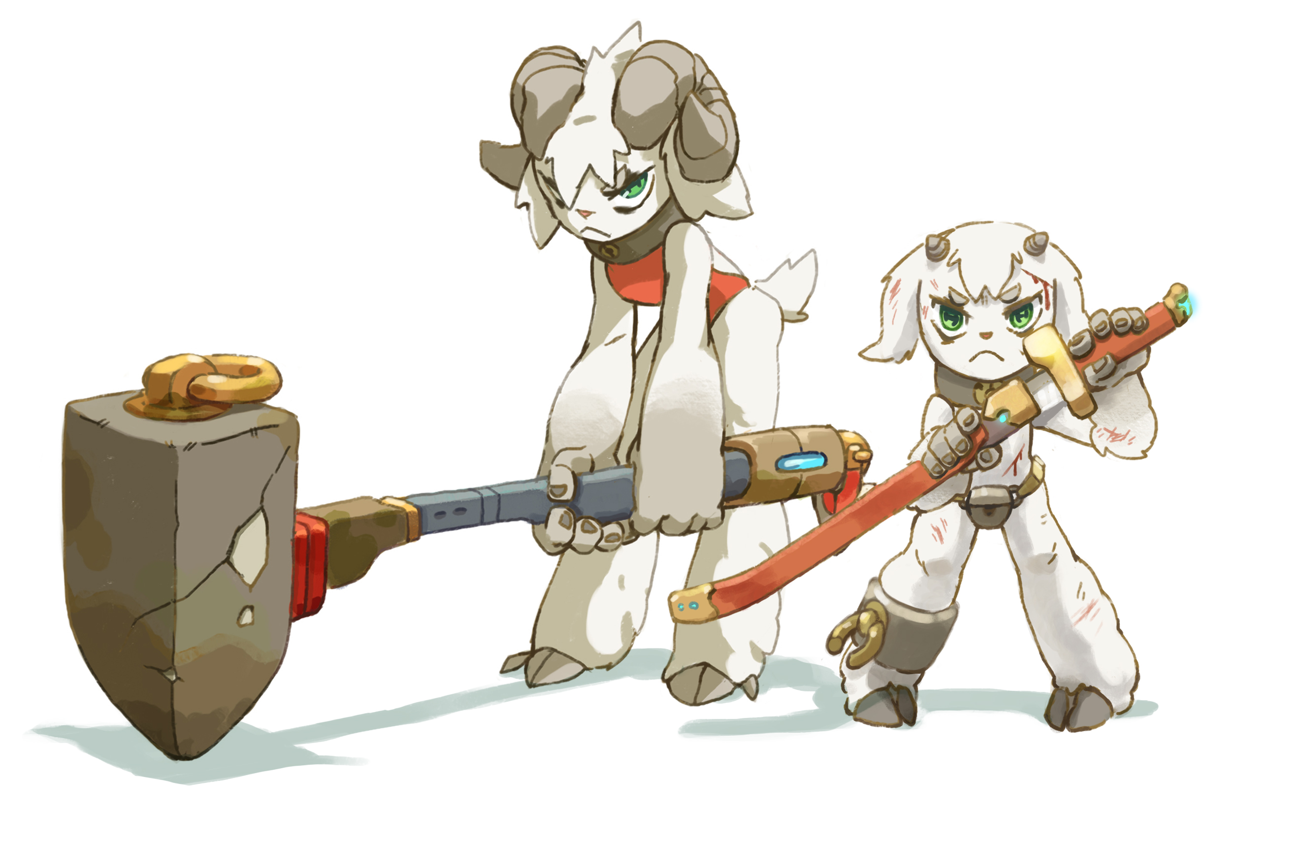 Goat fighters