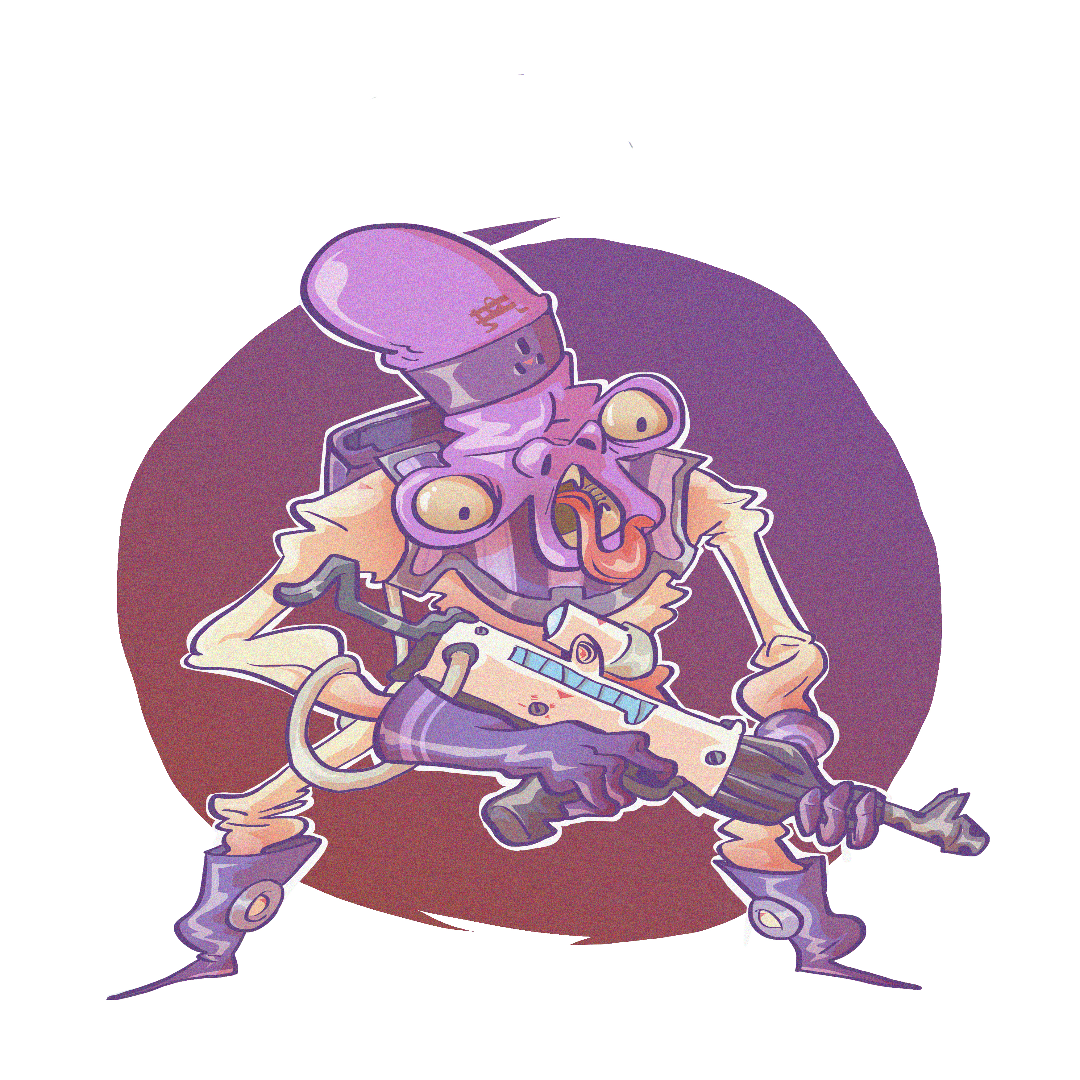 Angry Armed Alien