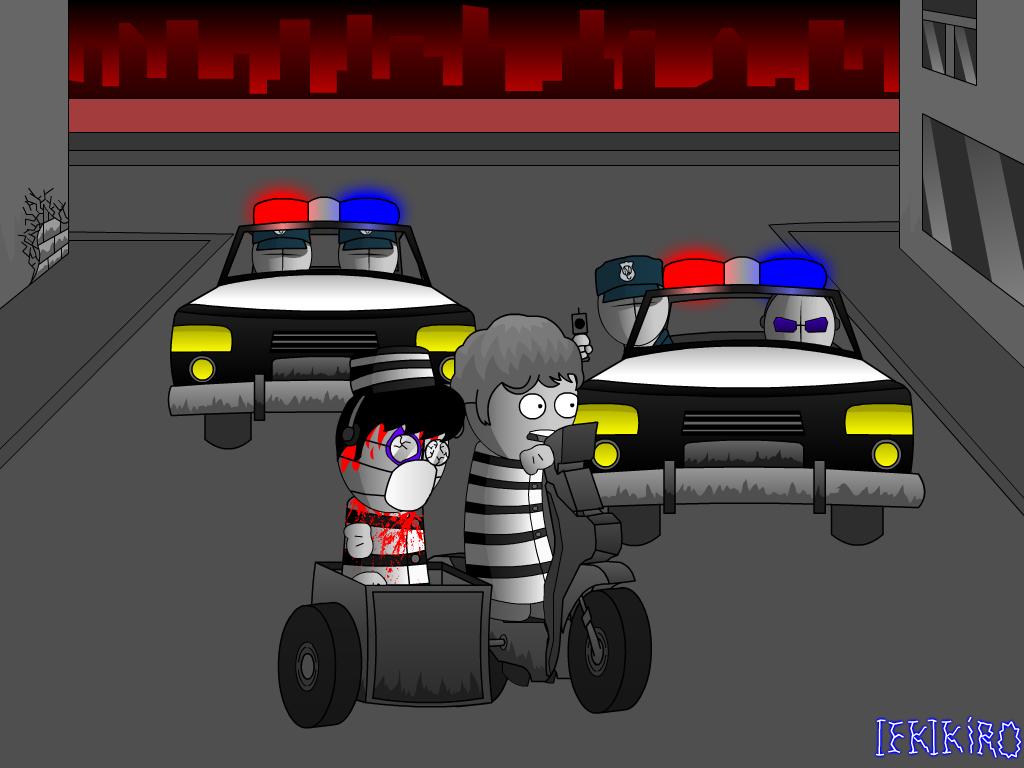Madness Jailbreak. Eshio and Dudingdarn