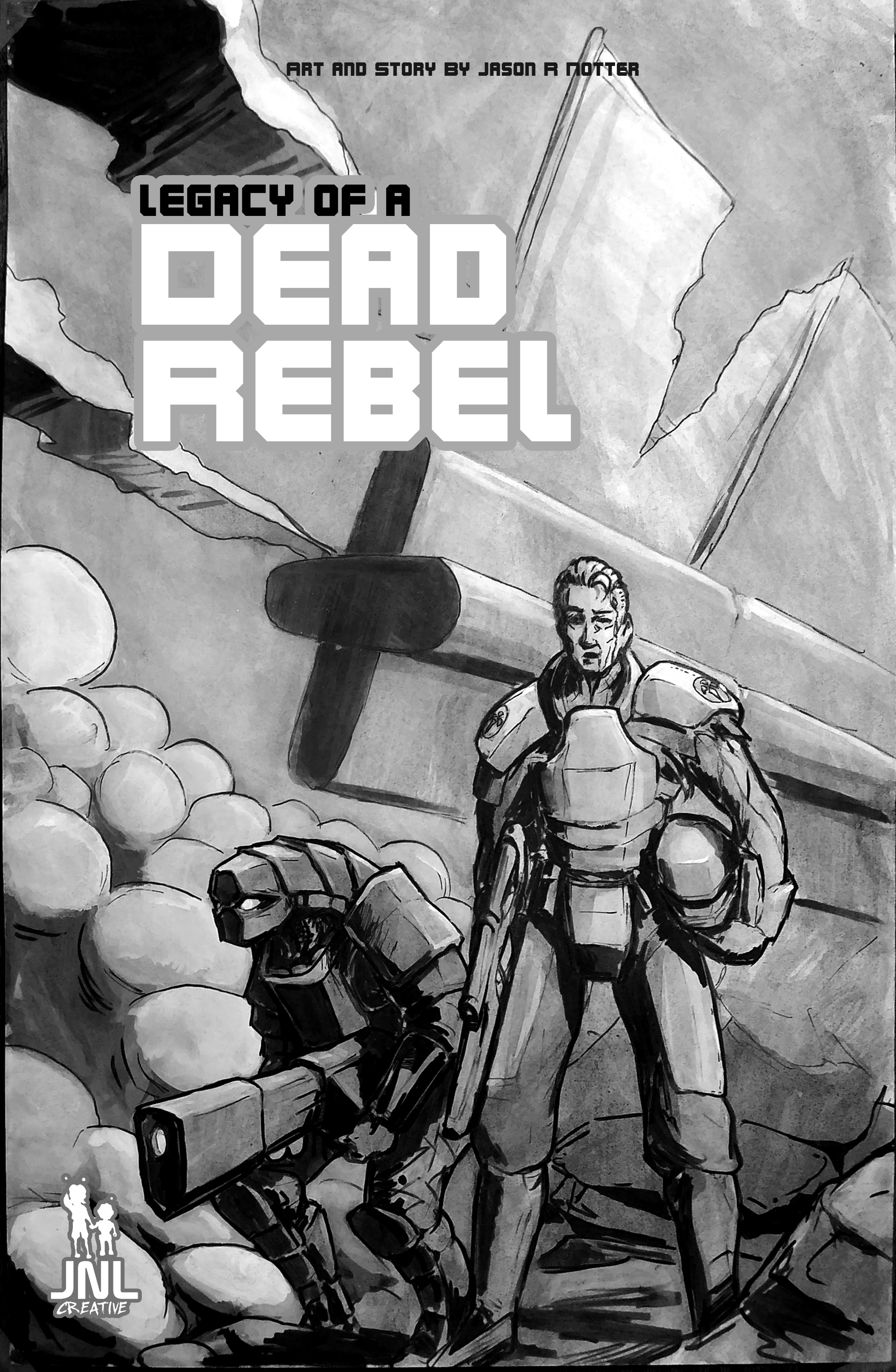 Dead Rebel: Traditional Comic (Original)