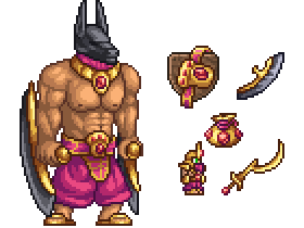 Anubis Boss and Its Drops by TheTMC on Newgrounds