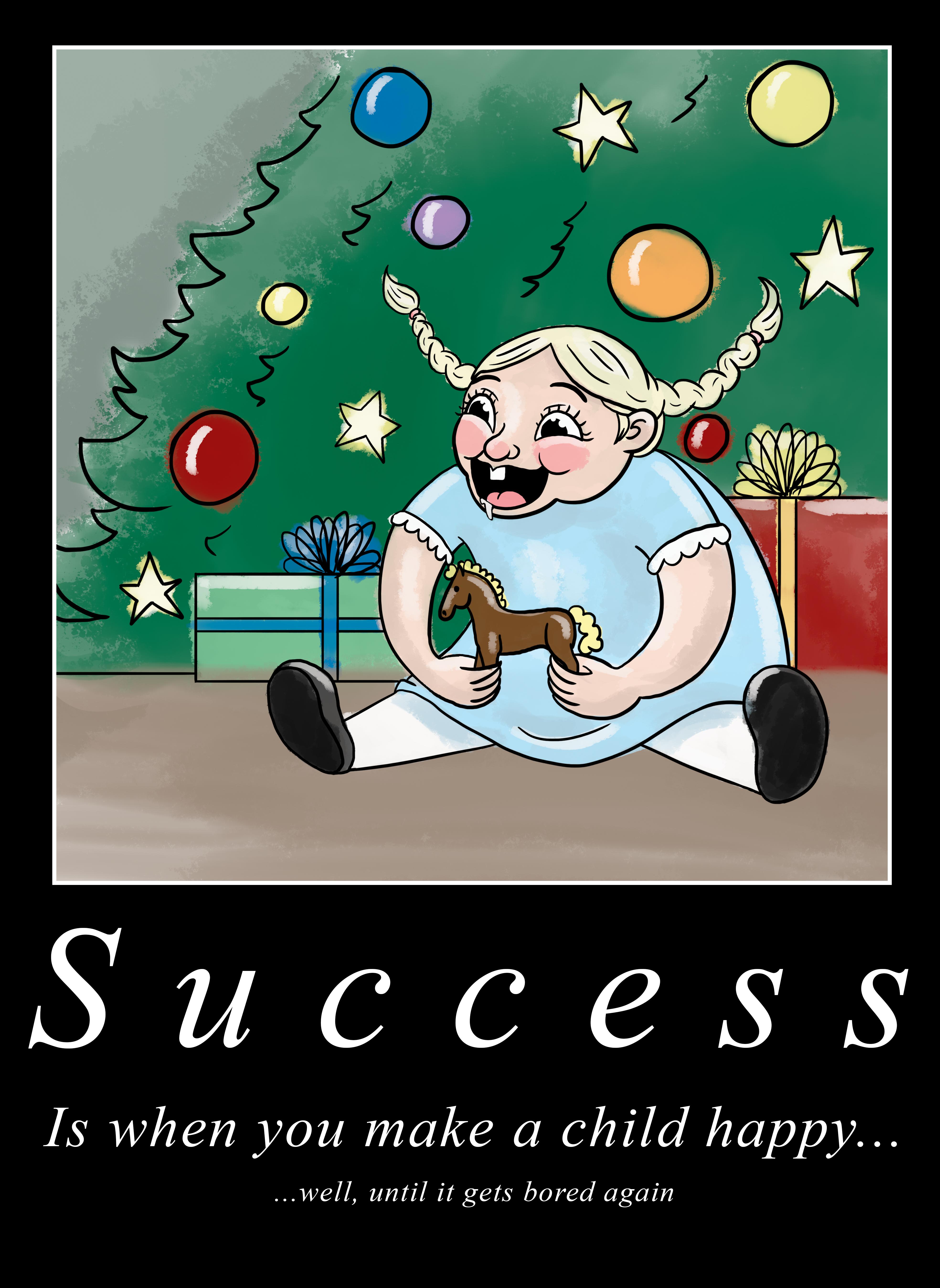 Elf motivational poster