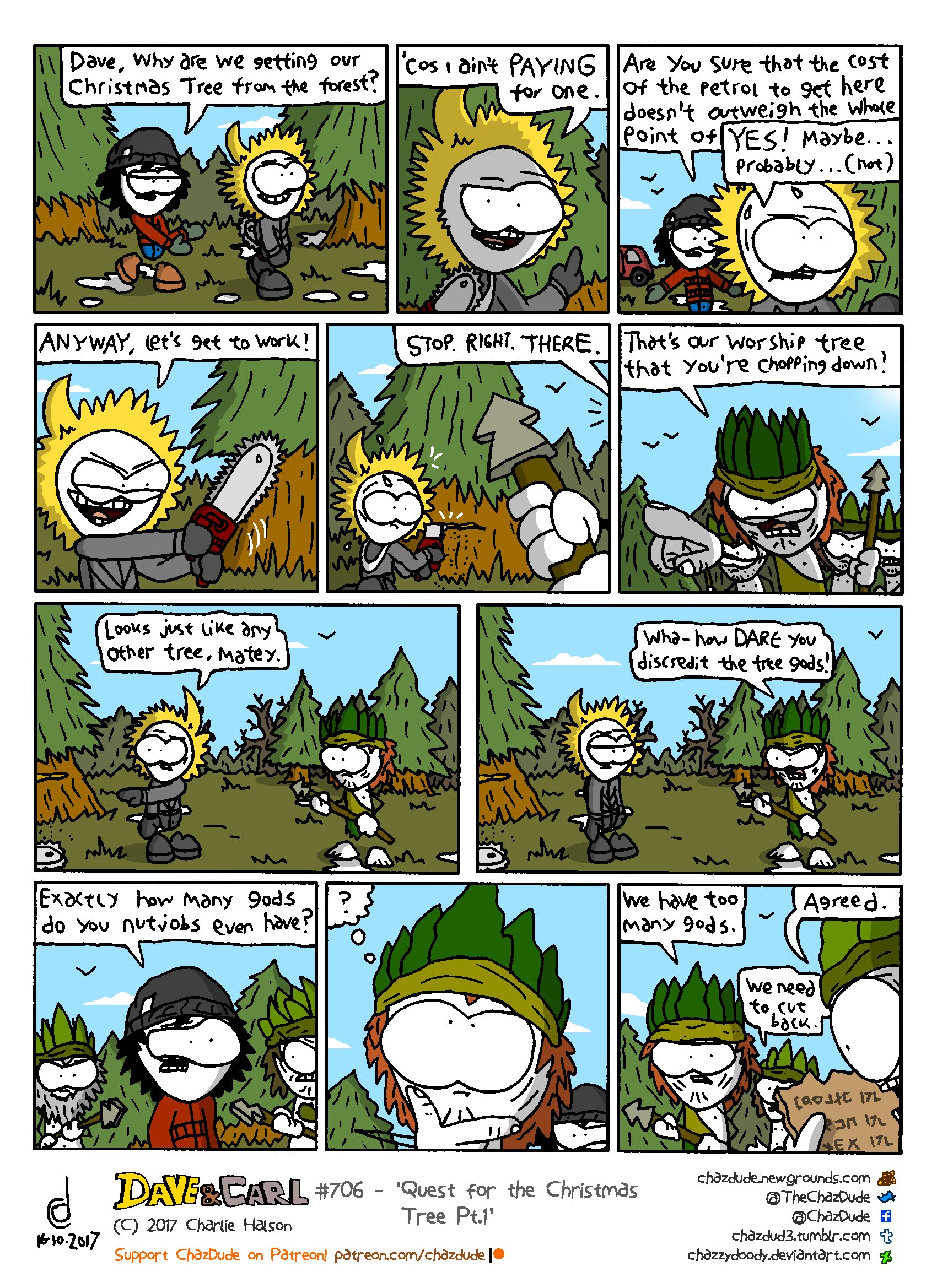 Quest for the Christmas Tree Pt.1
