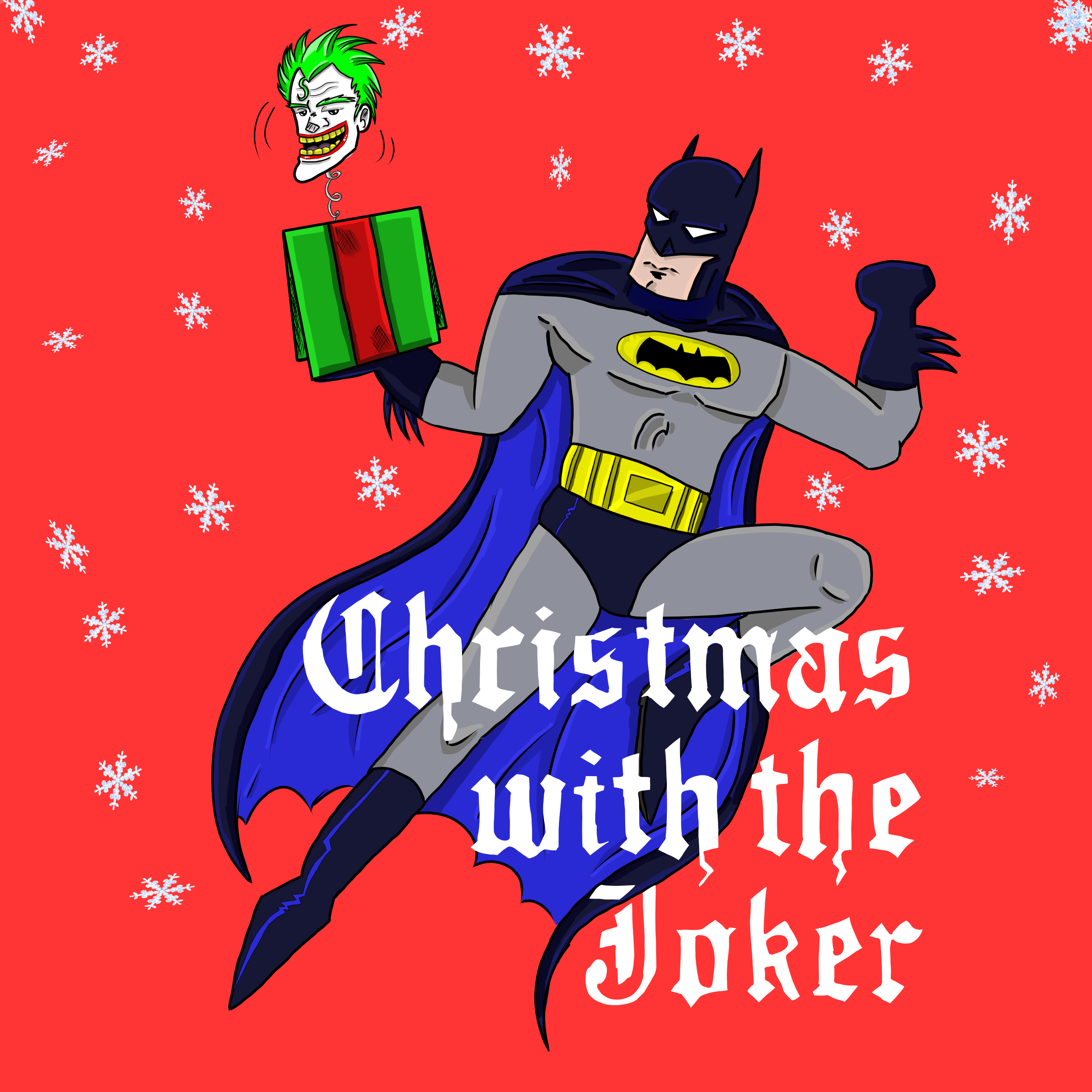 Batman: Christmas with the Joker by SketchitPlus on Newgrounds