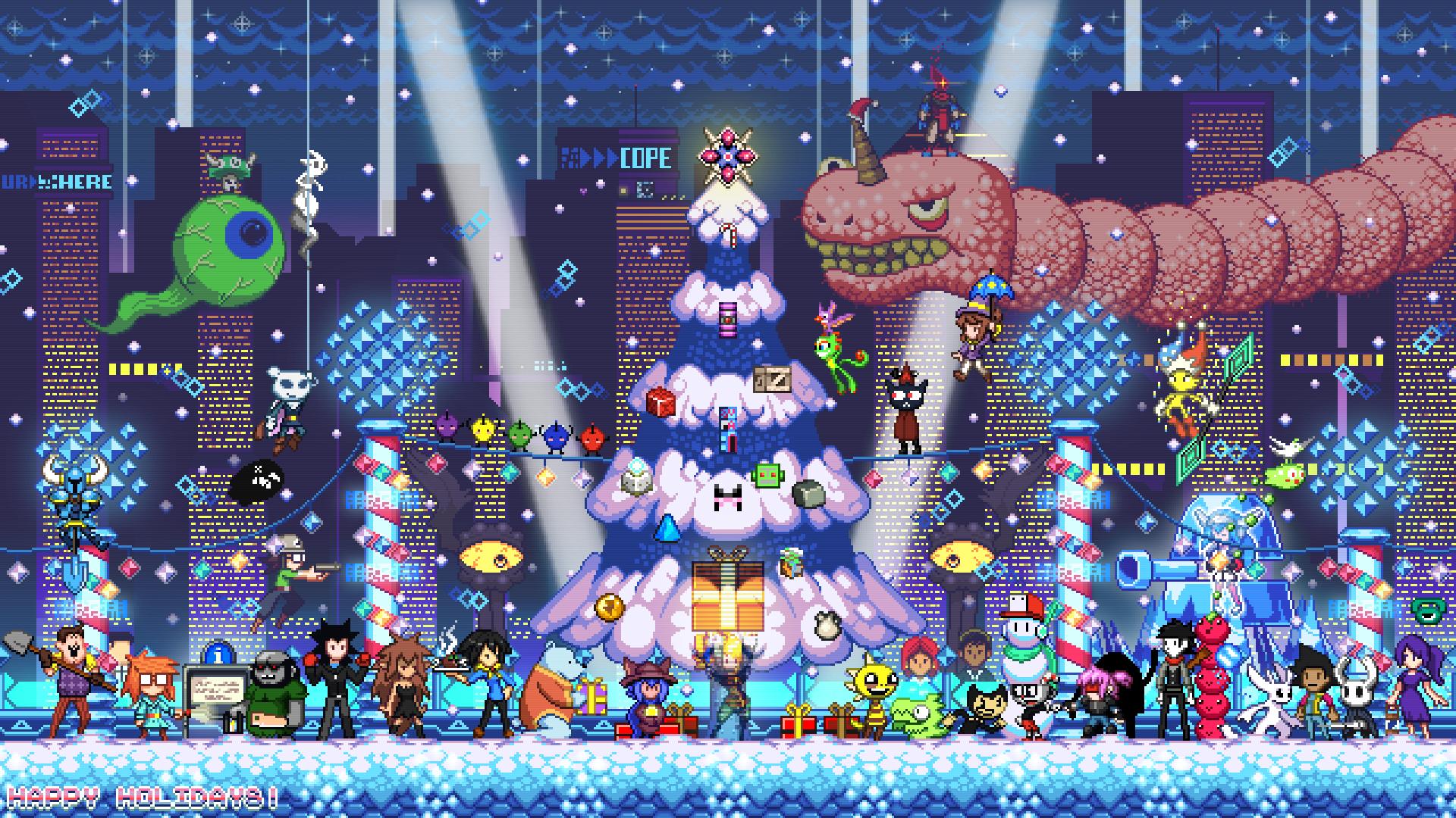 Indie Games Holidays wallpaper