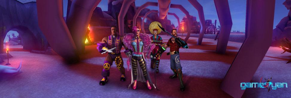 Flux 3D Character Development for game Brazil