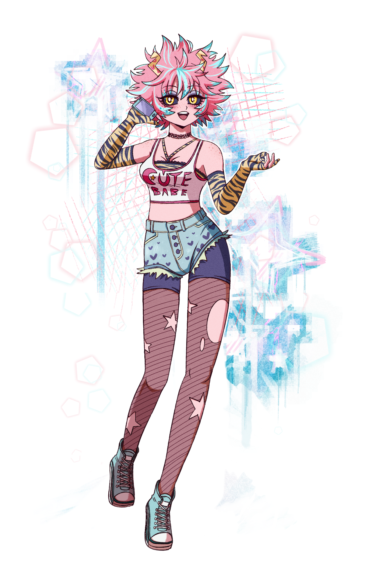 Mina Ashido By Voodoodollmaster On Newgrounds