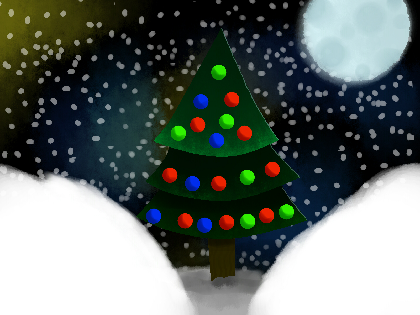 Lonely Christmas.Lonely Christmas Tree By Trevorminton On Newgrounds