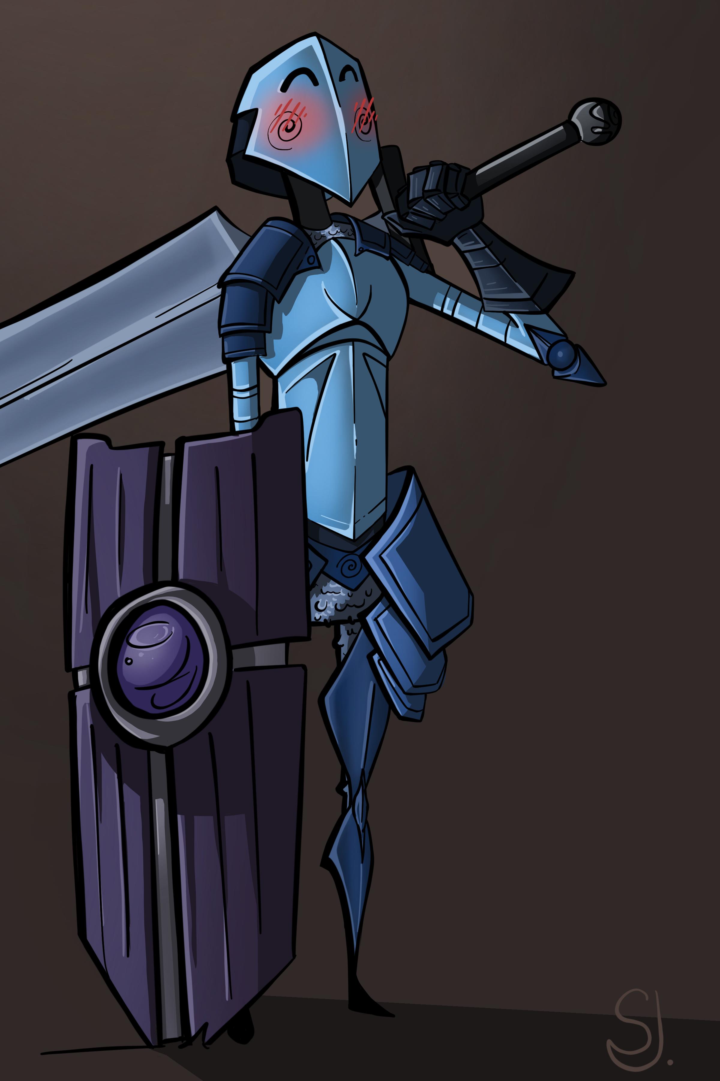 Simple, cute knight