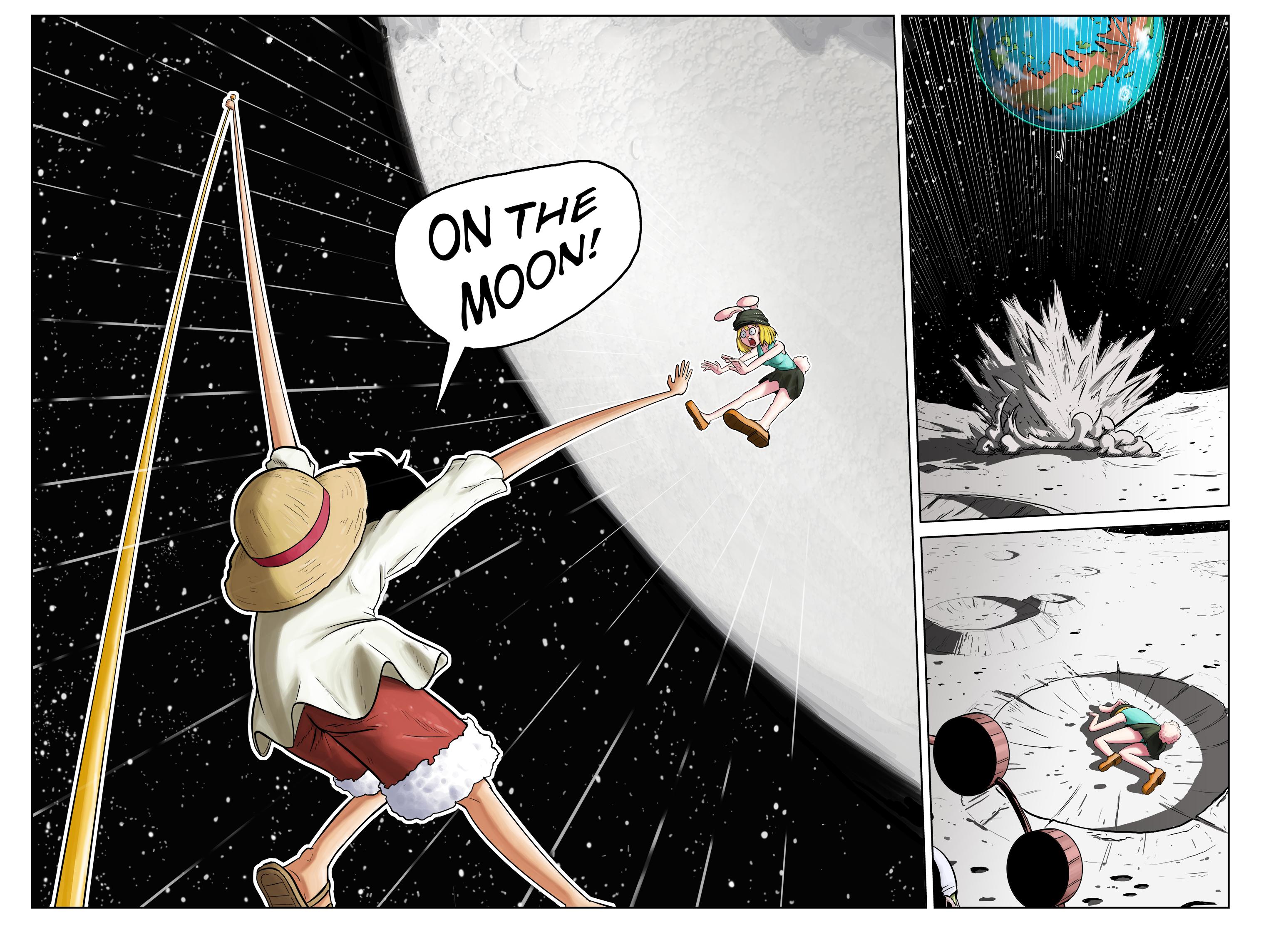Moon Rabbit PG 3-4 - One Piece Comic