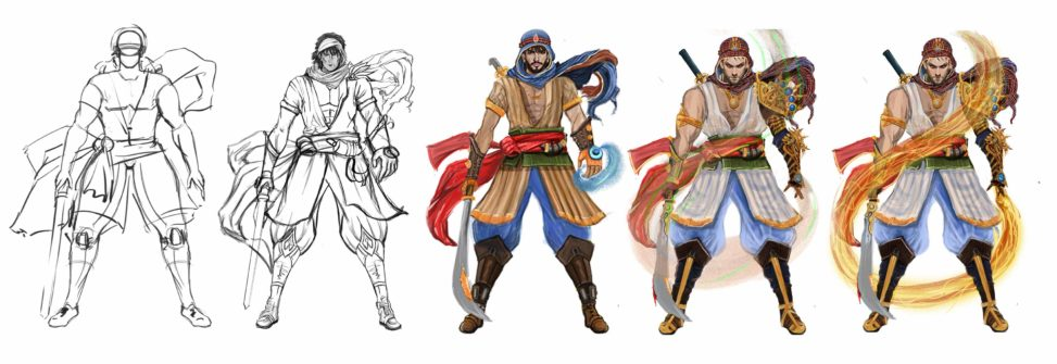 3D Concept Art Character Animation United Arab Emirates