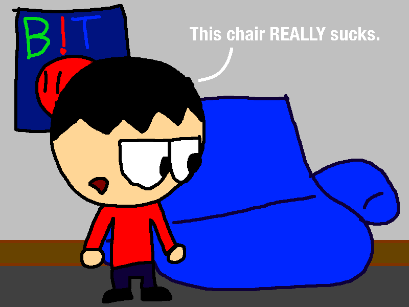 Yeah, this is a horrible chair.