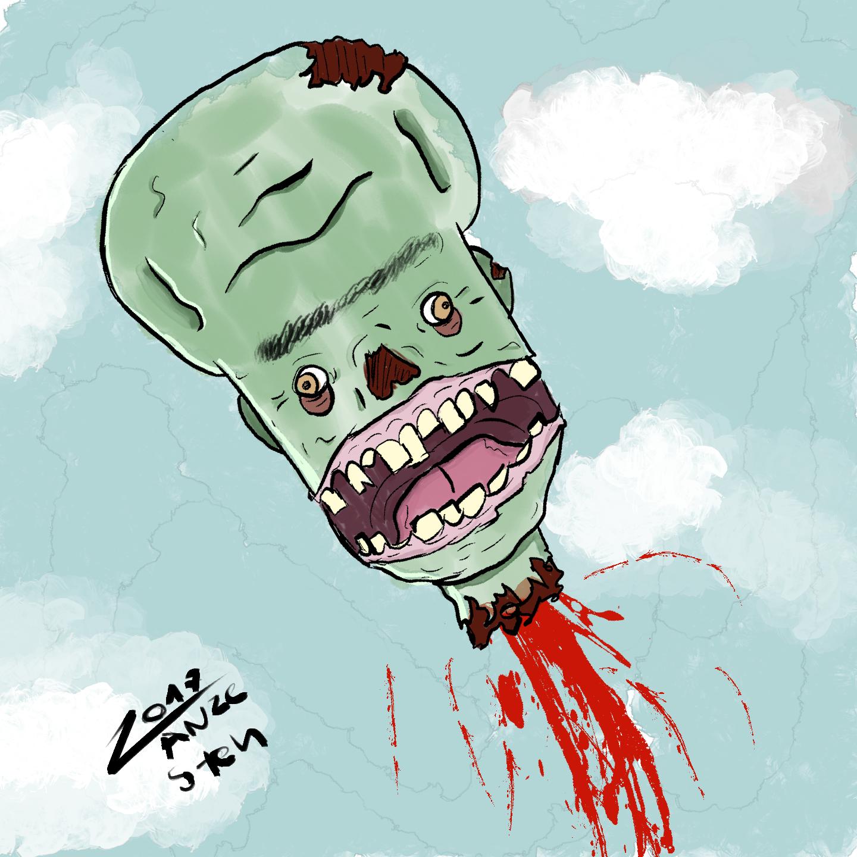 one zombie boi