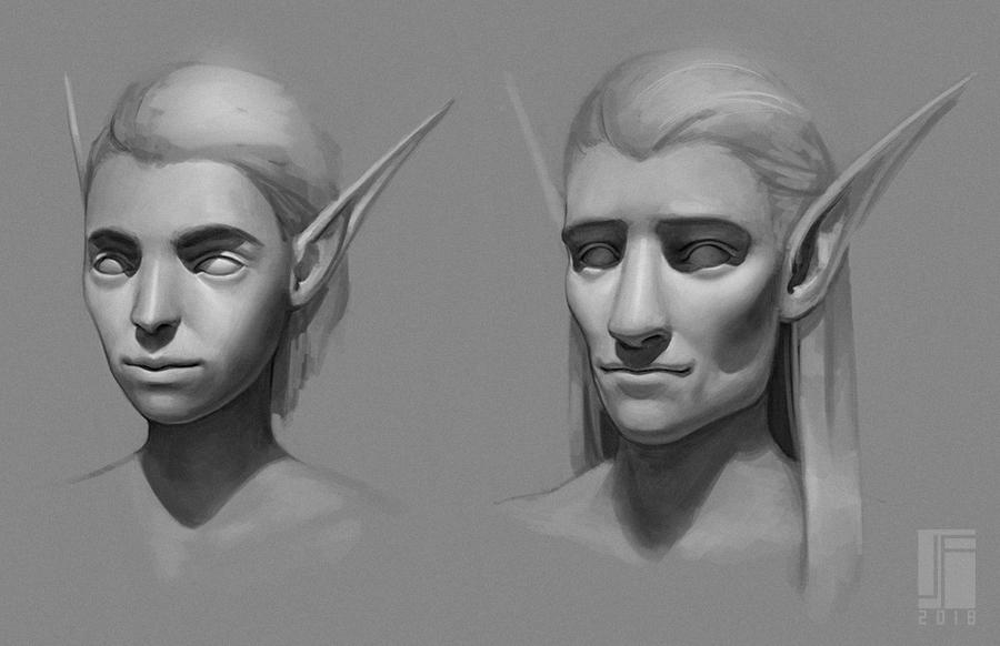 Elves | Portrait Studies