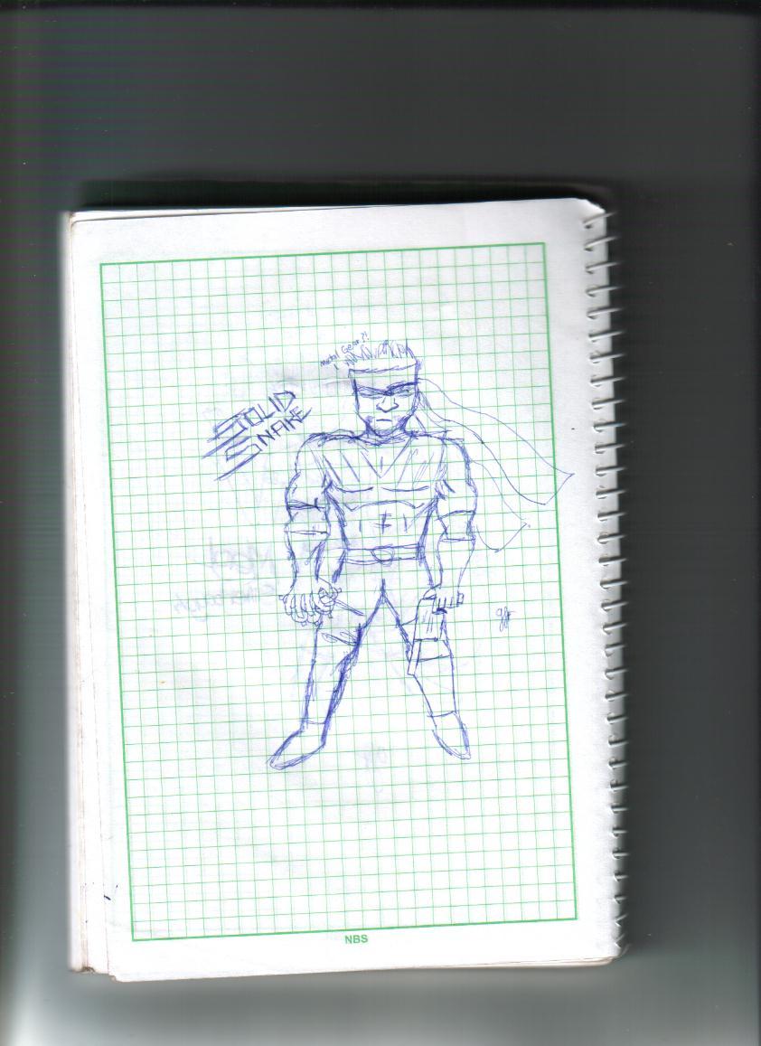 Solid Snake Doodle