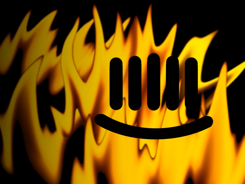 Burning Smiley