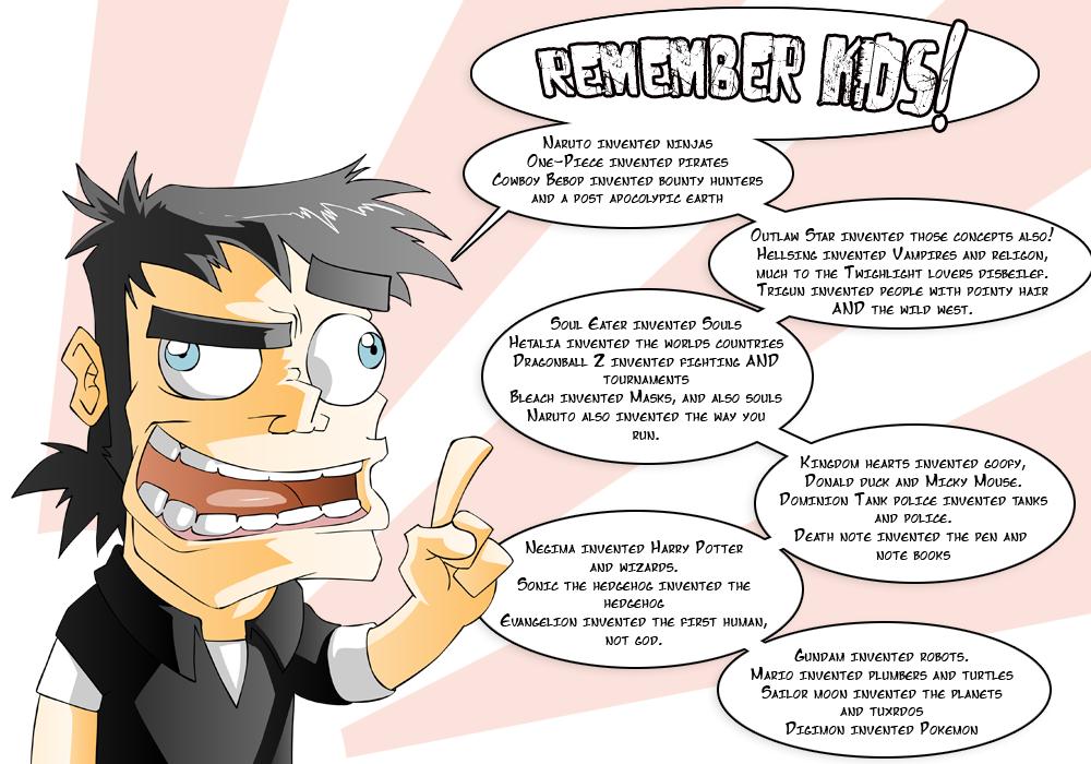 Remember kids...