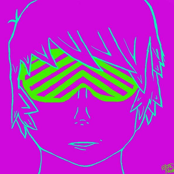 Neon Shades. (darker colors)