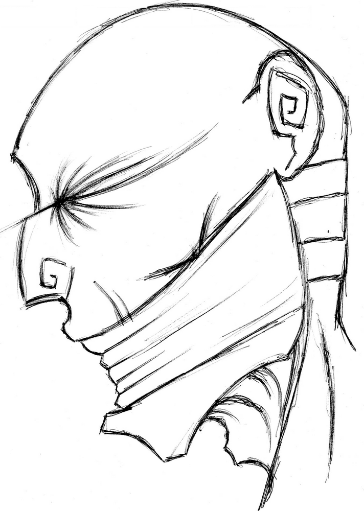 Abstrakter Kopf