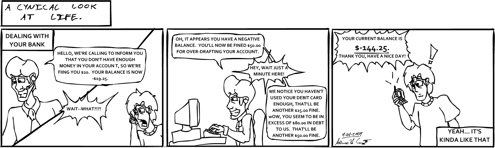 Dealing With Your Bank