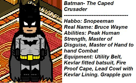 Habbo Batman