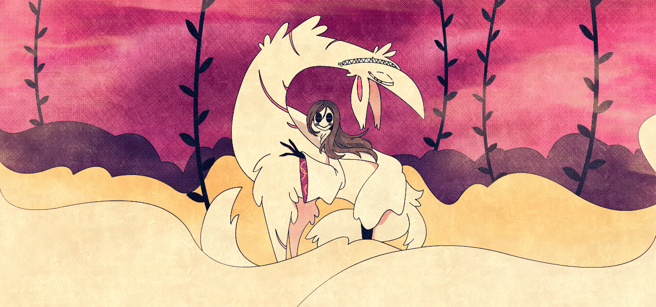 On a pale wolf