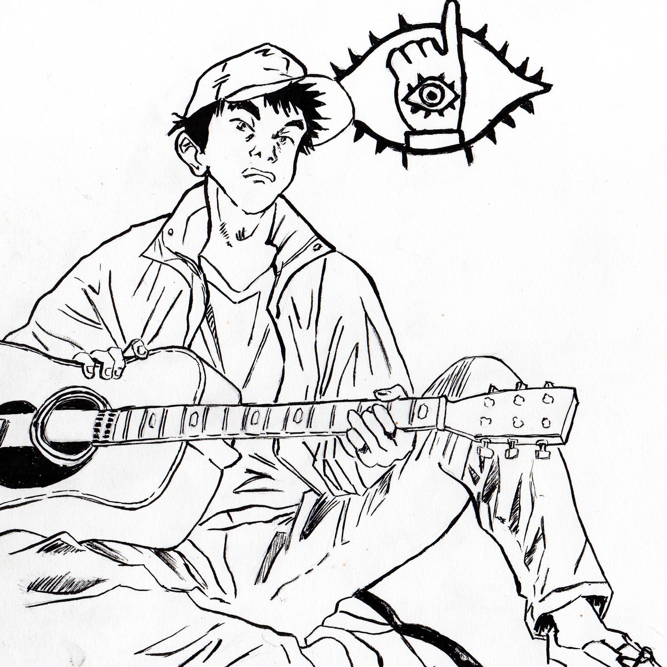 Kenji from 20th Century boys by PedroTorres on Newgrounds
