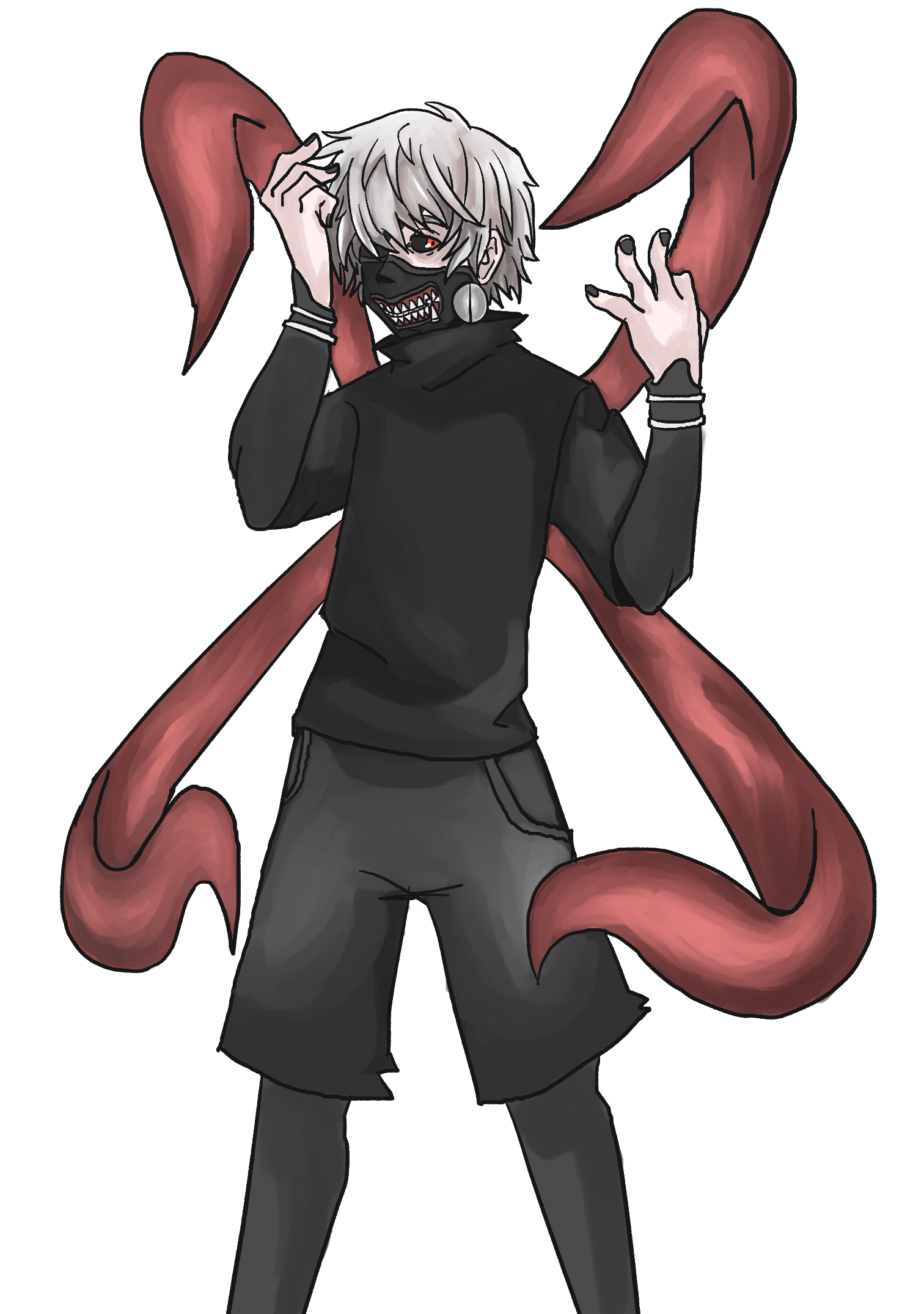 kaneki from tokyo ghoul by brandonisnear on newgrounds kaneki from tokyo ghoul by