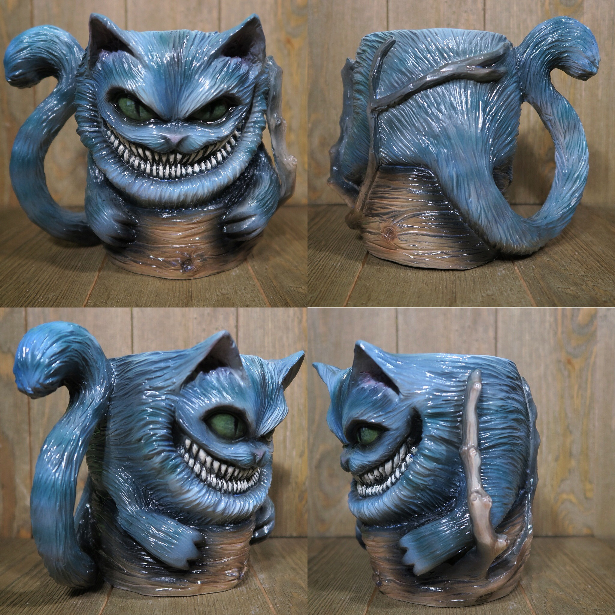 Cheshire Cat Coffee Mug