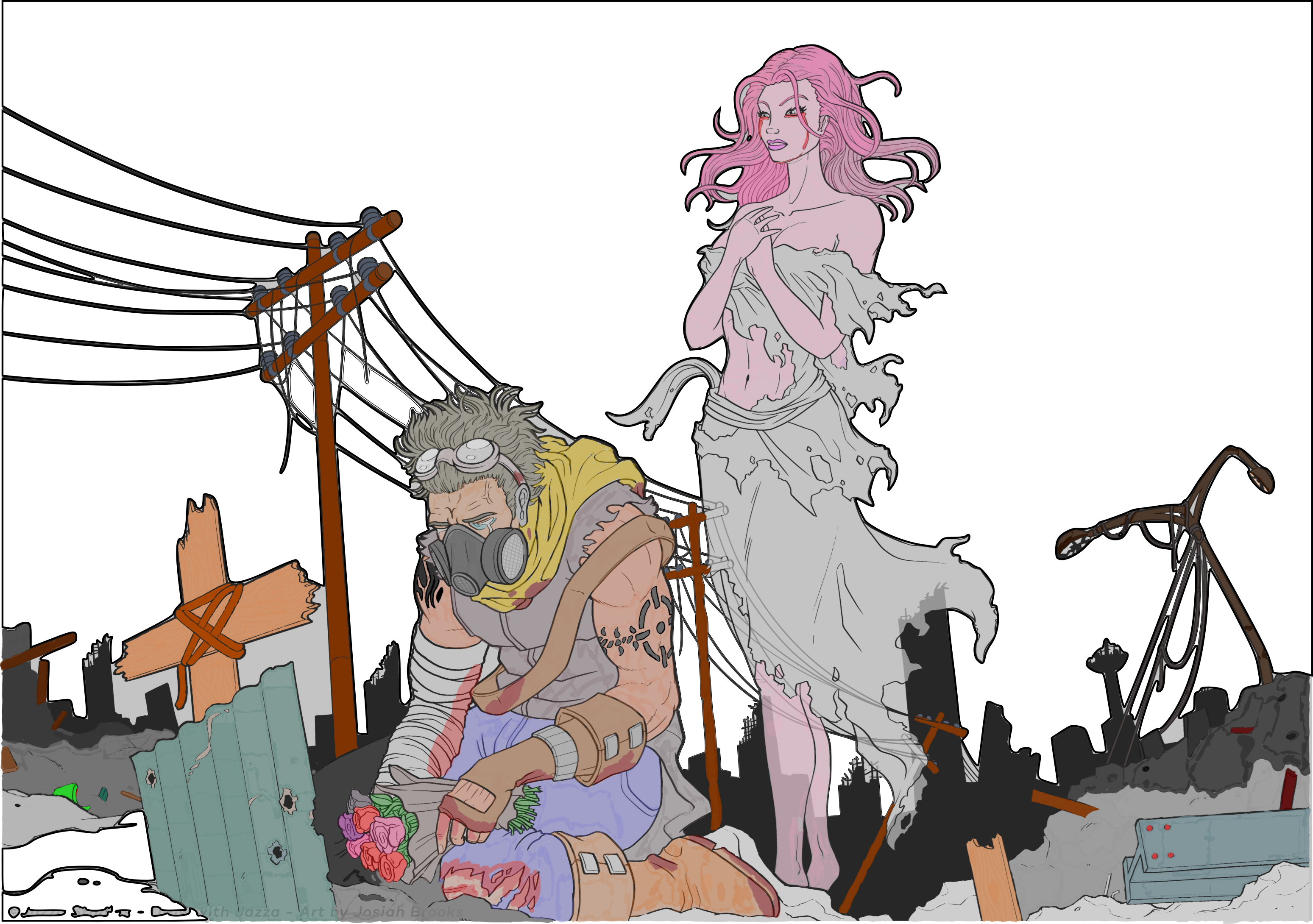 Sketch and coloring issues