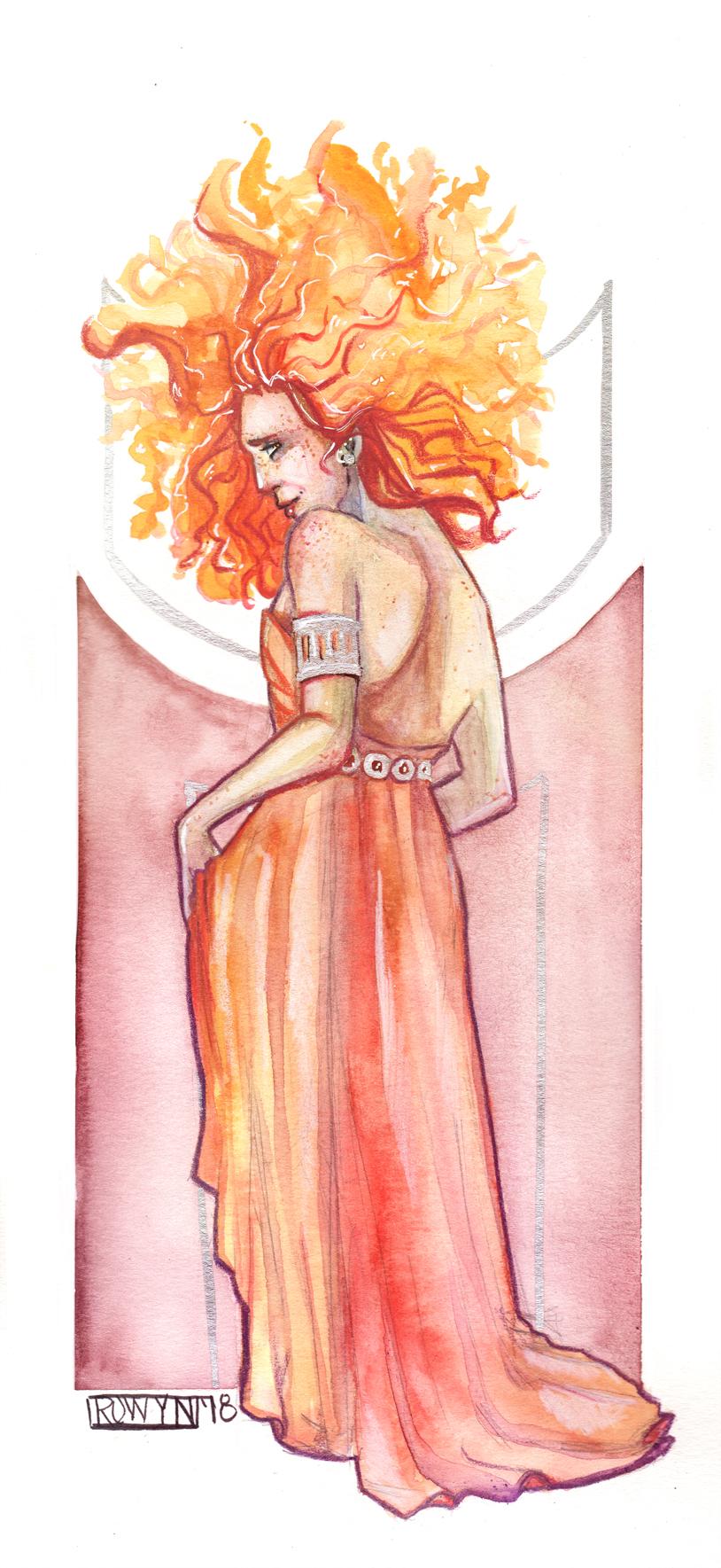 Hestia    Watercolor