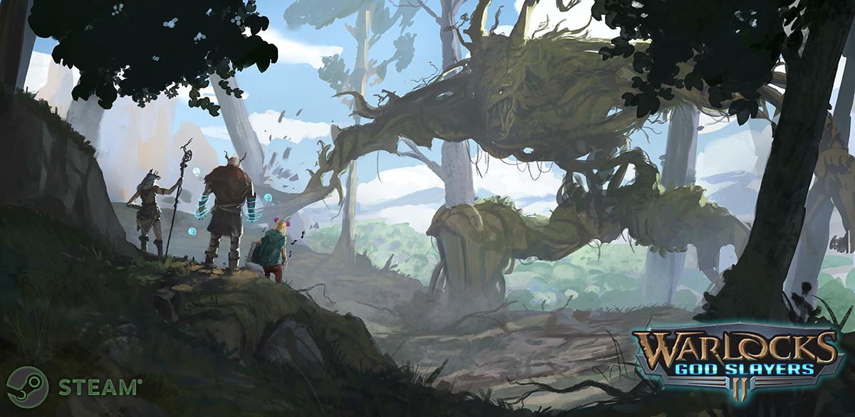 Main artwork for Warlocks: God Slayers