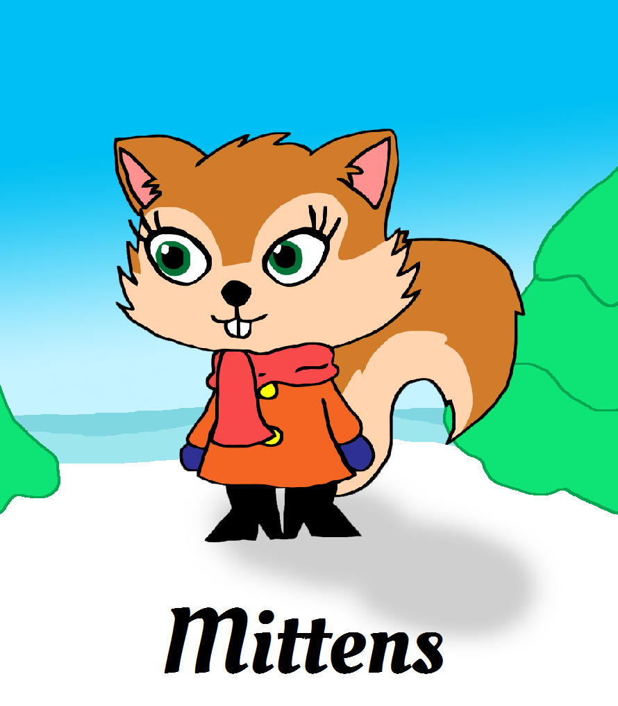 Mittens the Squirrel