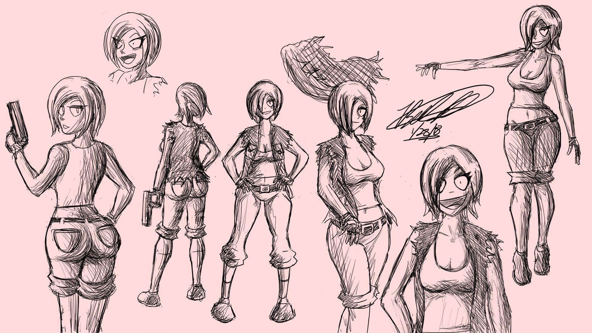 Xeja Sketches