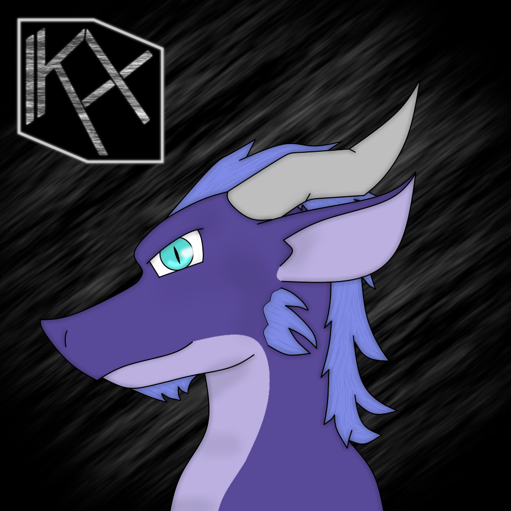 Kirefyx the dragon (headshot)