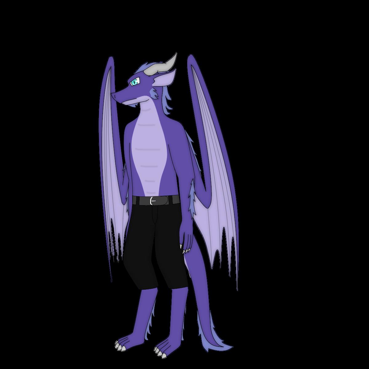 Kirefyx the dragon (full body shot)