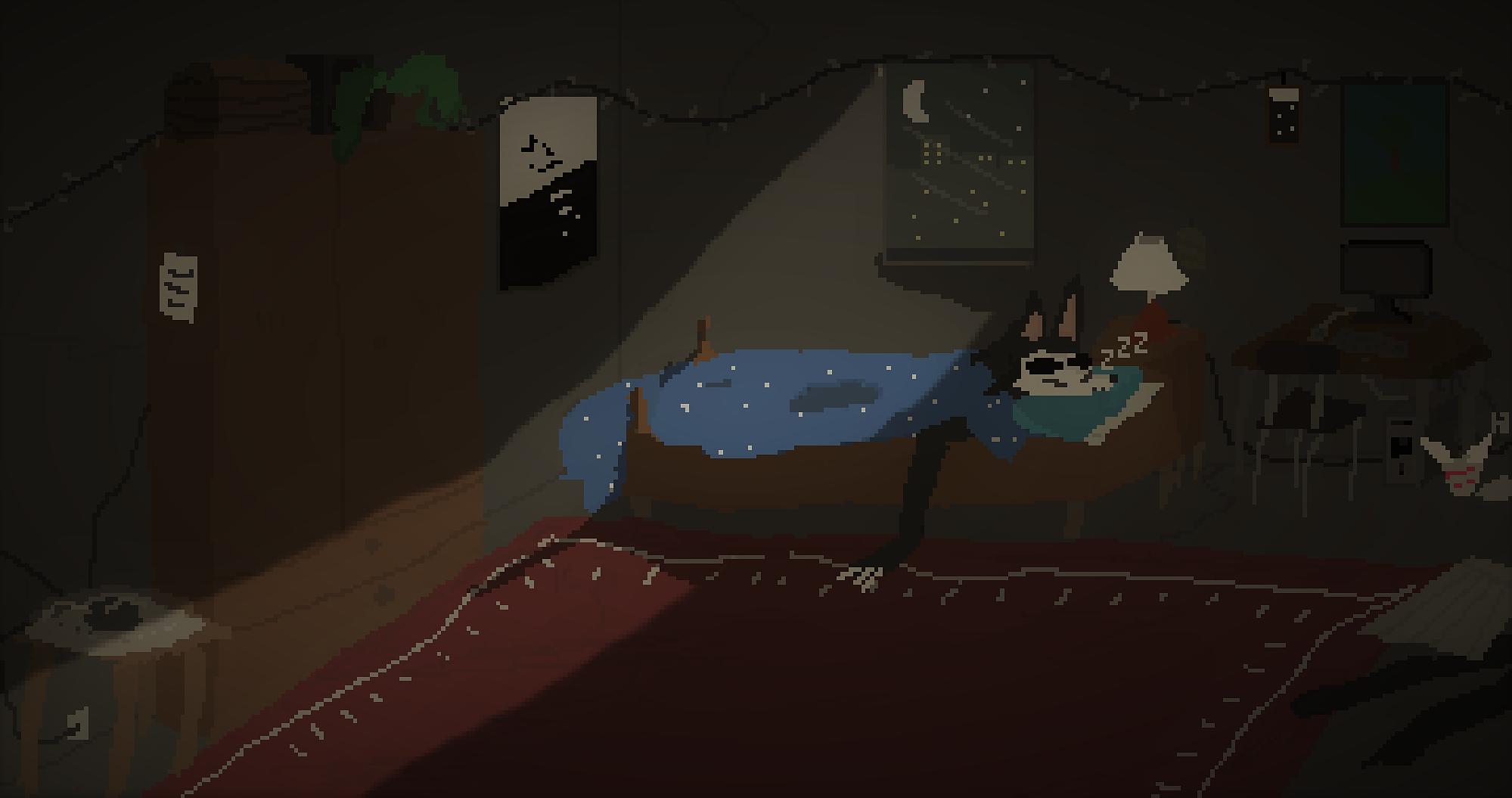 Sleeping mal0