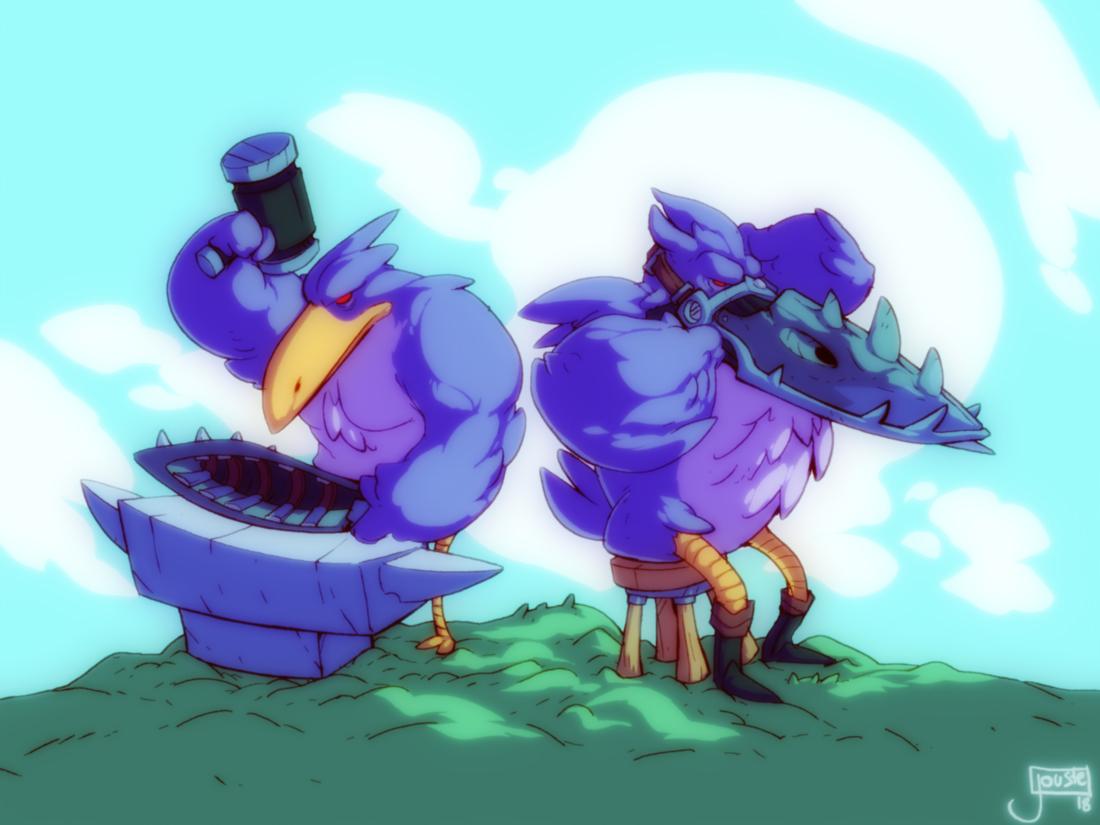 The Beak Bros.