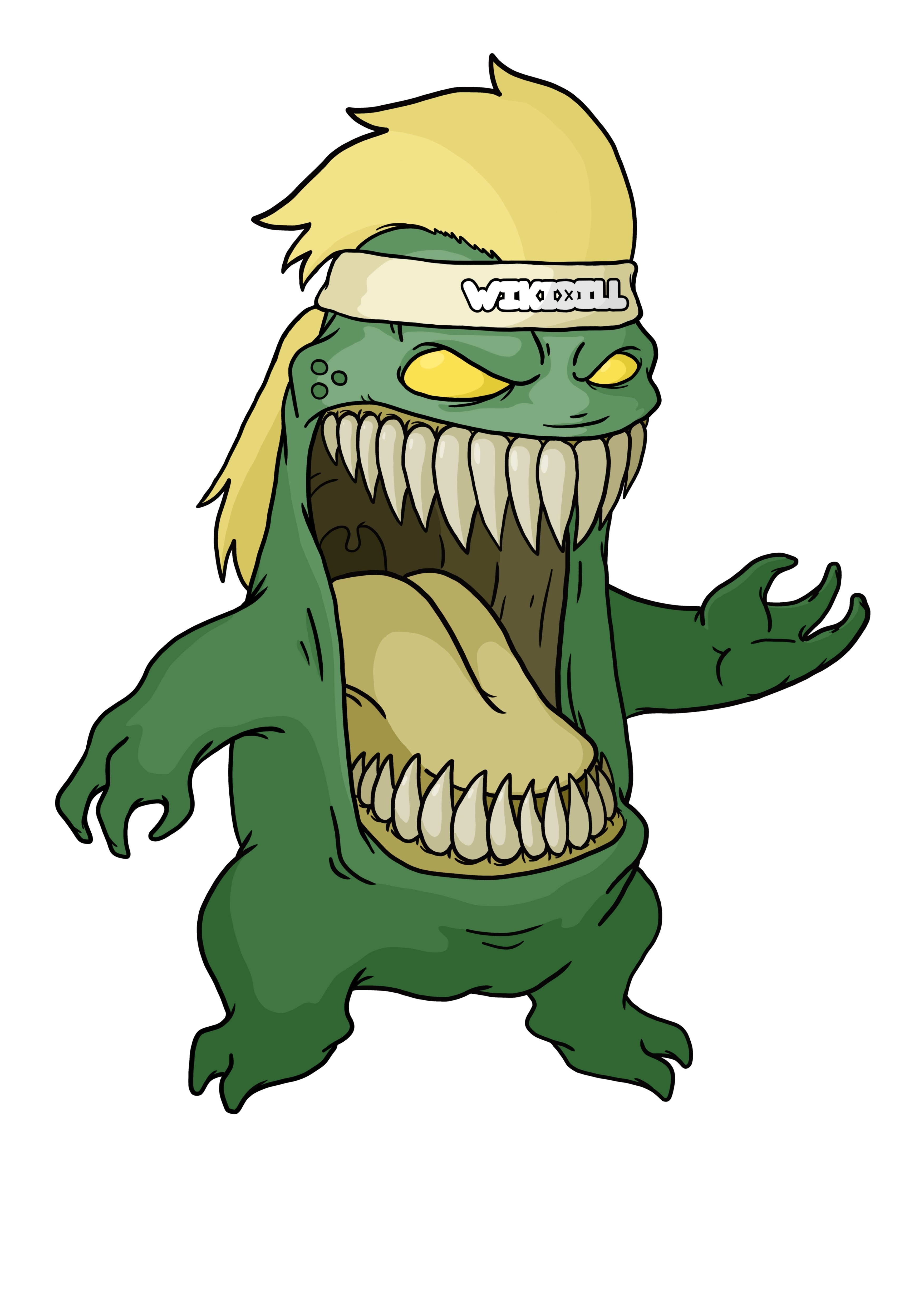 Wikidill Monster