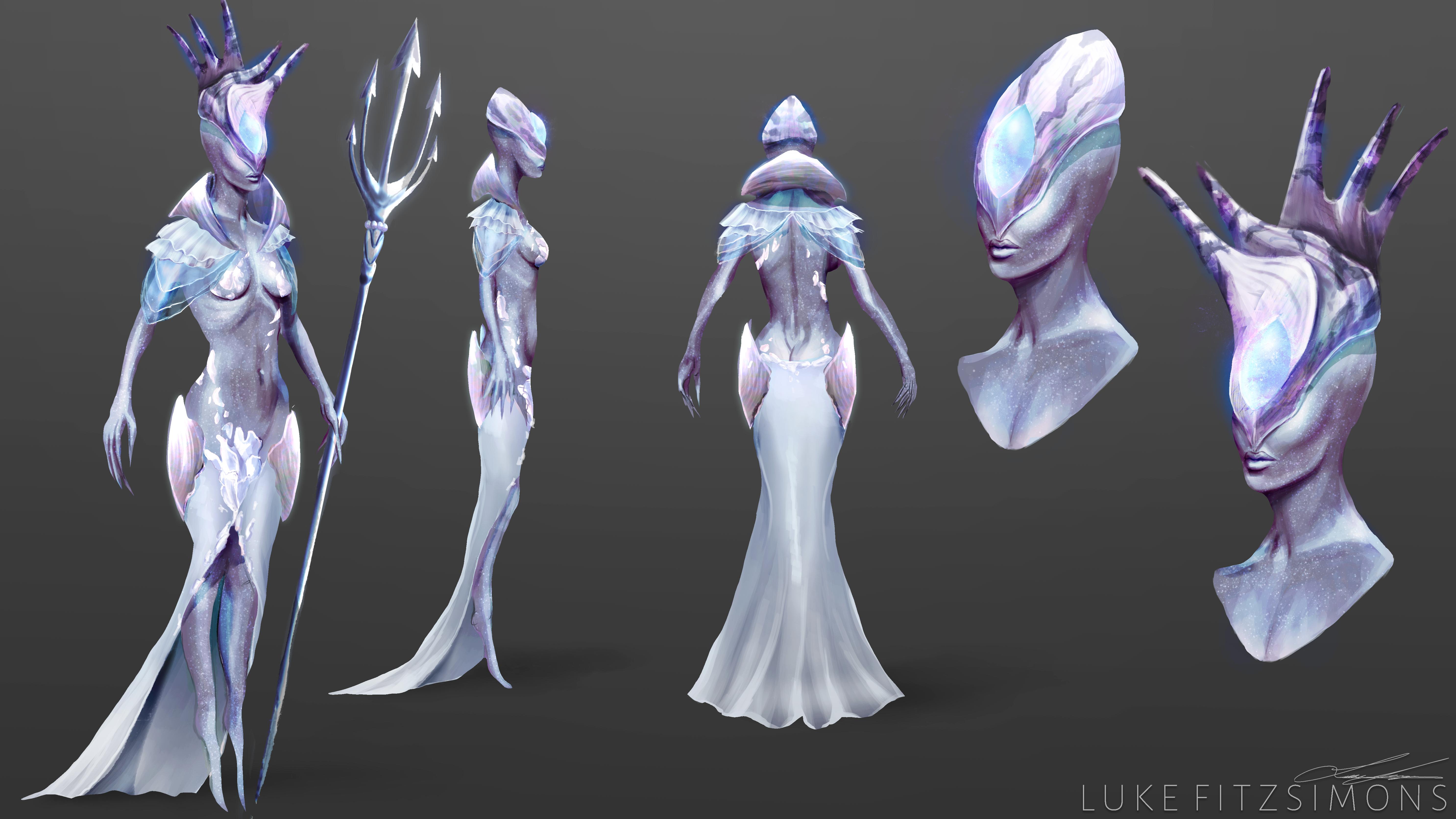 Alien Queen - Concept Art