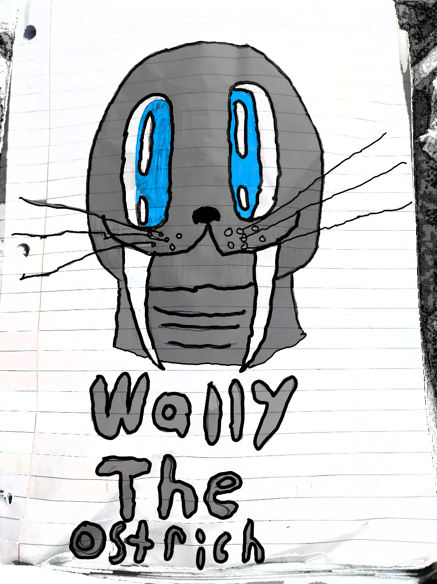 Wally The Ostrich