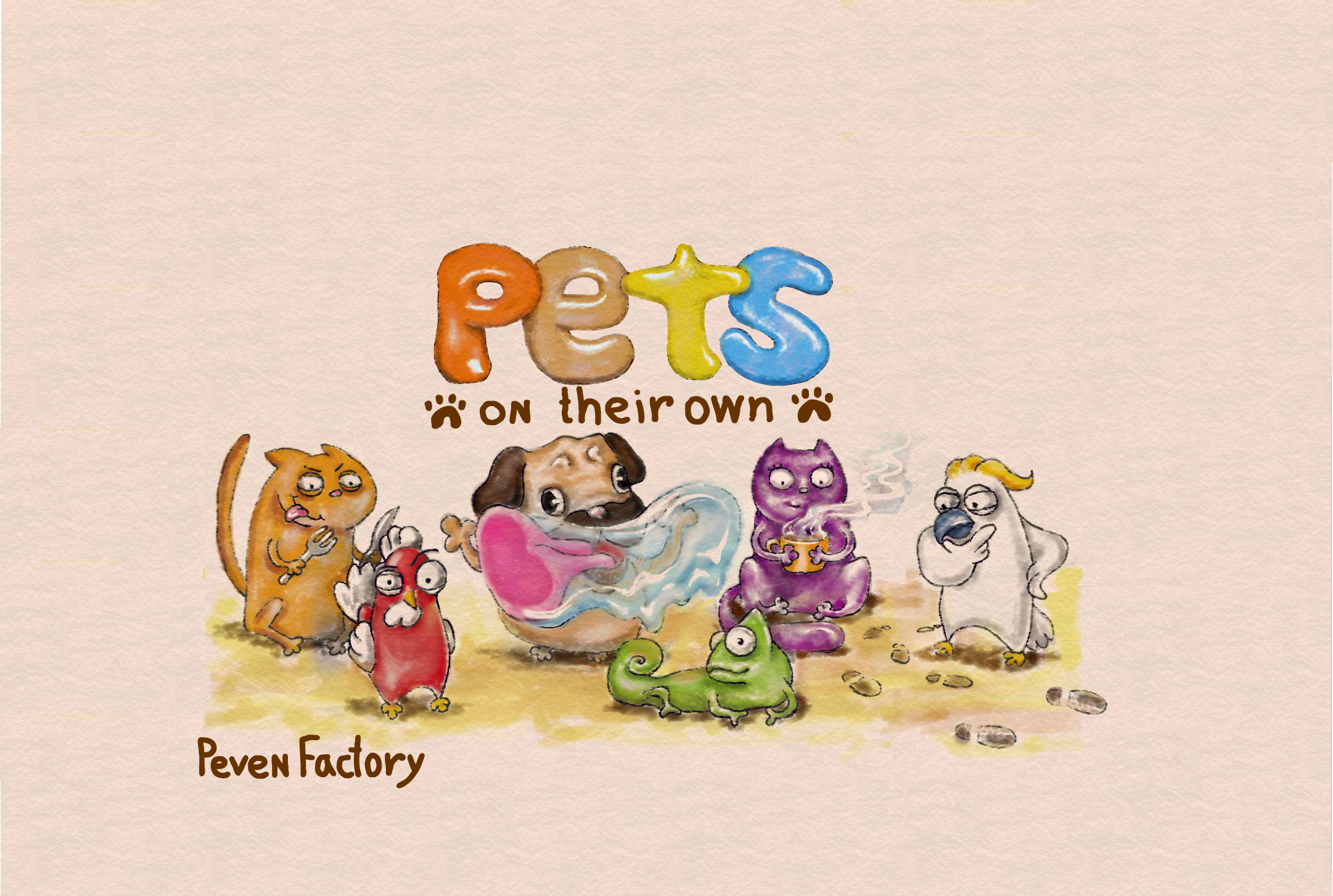 Pets On Their Own - New banner!
