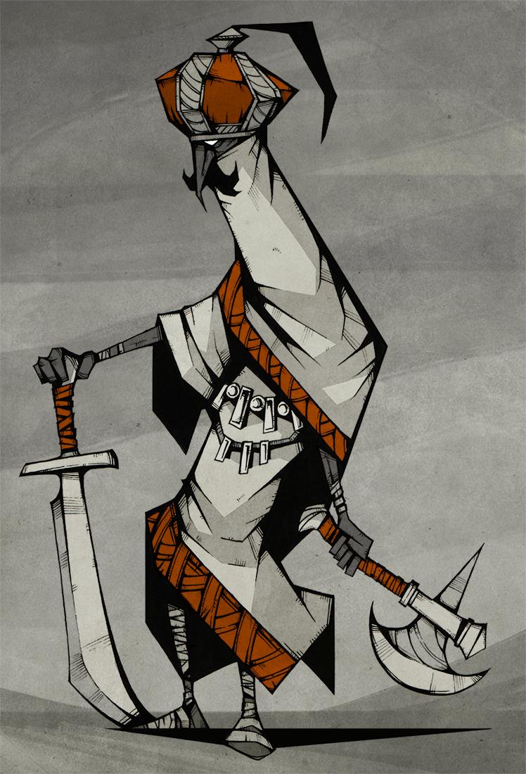 Desert Mercenary