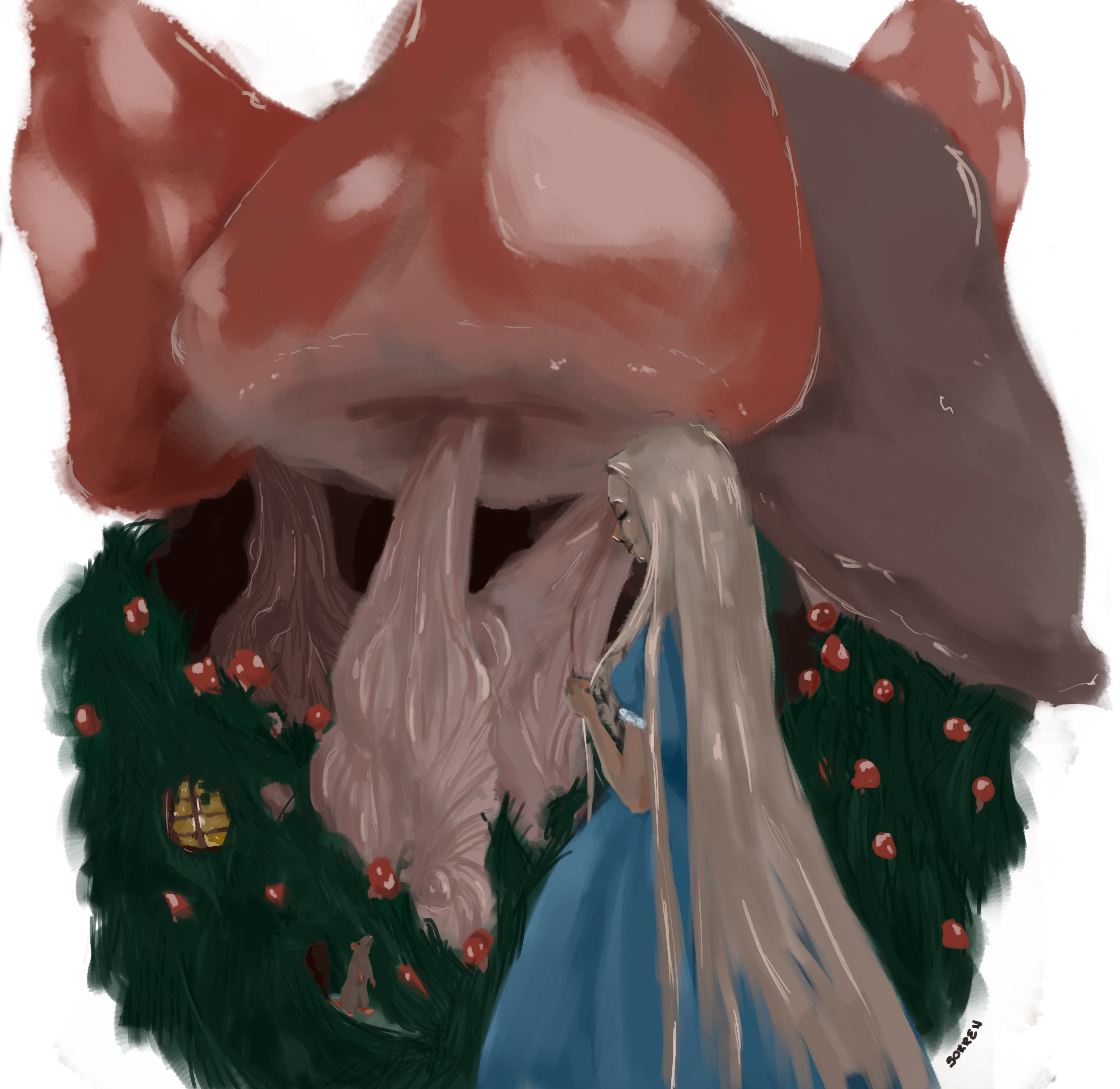 Mice and mushrooms